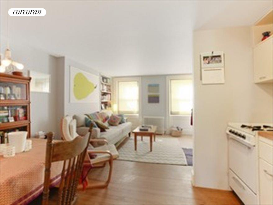 Garden Rental Living Room and Kitchen
