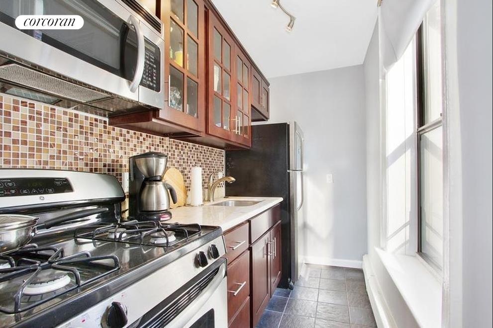 118 Sterling Place, 4D, Windowed kitchen with granite countertops
