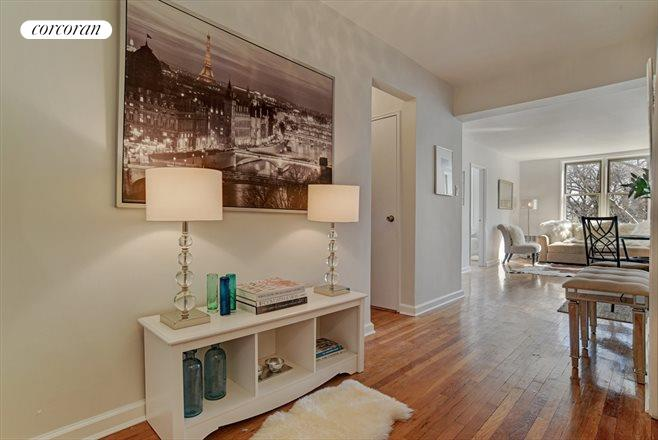 245 Henry Street, 3G, Gracious foyer, which is a room in itself...