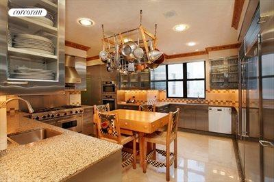 New York City Real Estate | View 785 Fifth Avenue, #PH17-18 | Chef's Kitchen