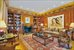 785 Fifth Avenue, PH17-18, Custom-Milled Mahogany Paneled Library