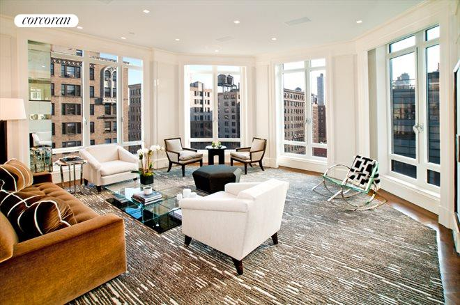 205 West 76th Street, PH3AN, Living Room