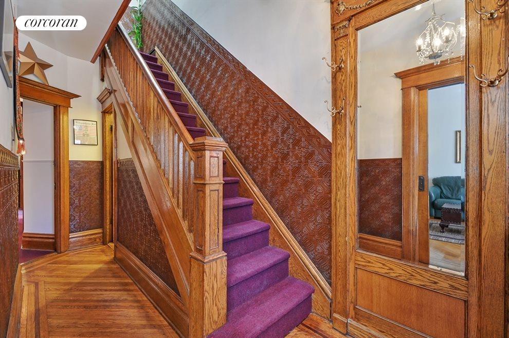 Entry Foyer with Beautiful Original Details
