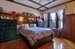 517 73rd Street, Bedroom with Coffered Ceiling & Wainscoting