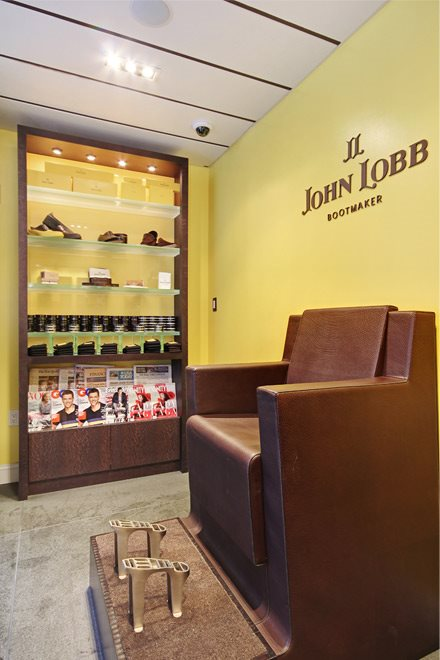 John Lobb Shoe Salon onsite