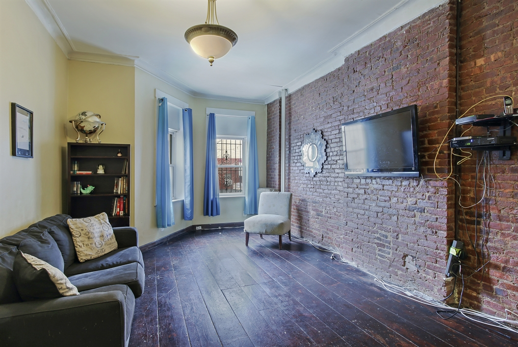 382 CHAUNCEY ST, Handsome Romanesque Revival brick facade