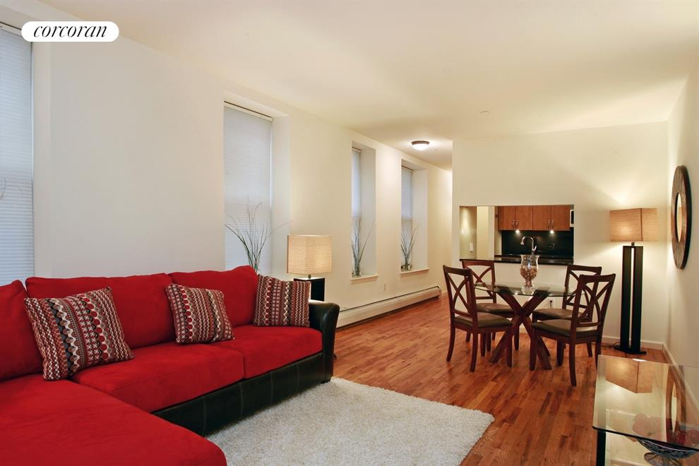 231 West 148th Street, 3F, Living Room / Dining Room