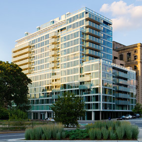 Photo of Richard Meier On Prospect Park