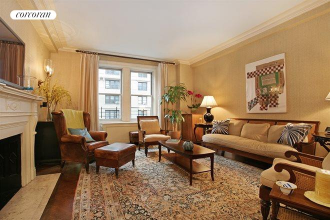 Corcoran 151 west 86th street apt 8c upper west side for Living room 86th street
