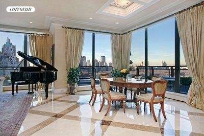 New York City Real Estate | View 785 Fifth Avenue, #PH17-18 | Grand Salon Overlooking Central Park