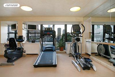 New York City Real Estate | View 785 Fifth Avenue, #PH17-18 | Complete Gym Overlooking Central Park