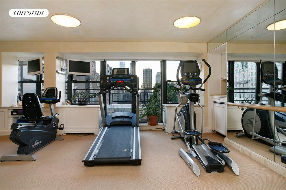 Complete Gym Overlooking Central Park