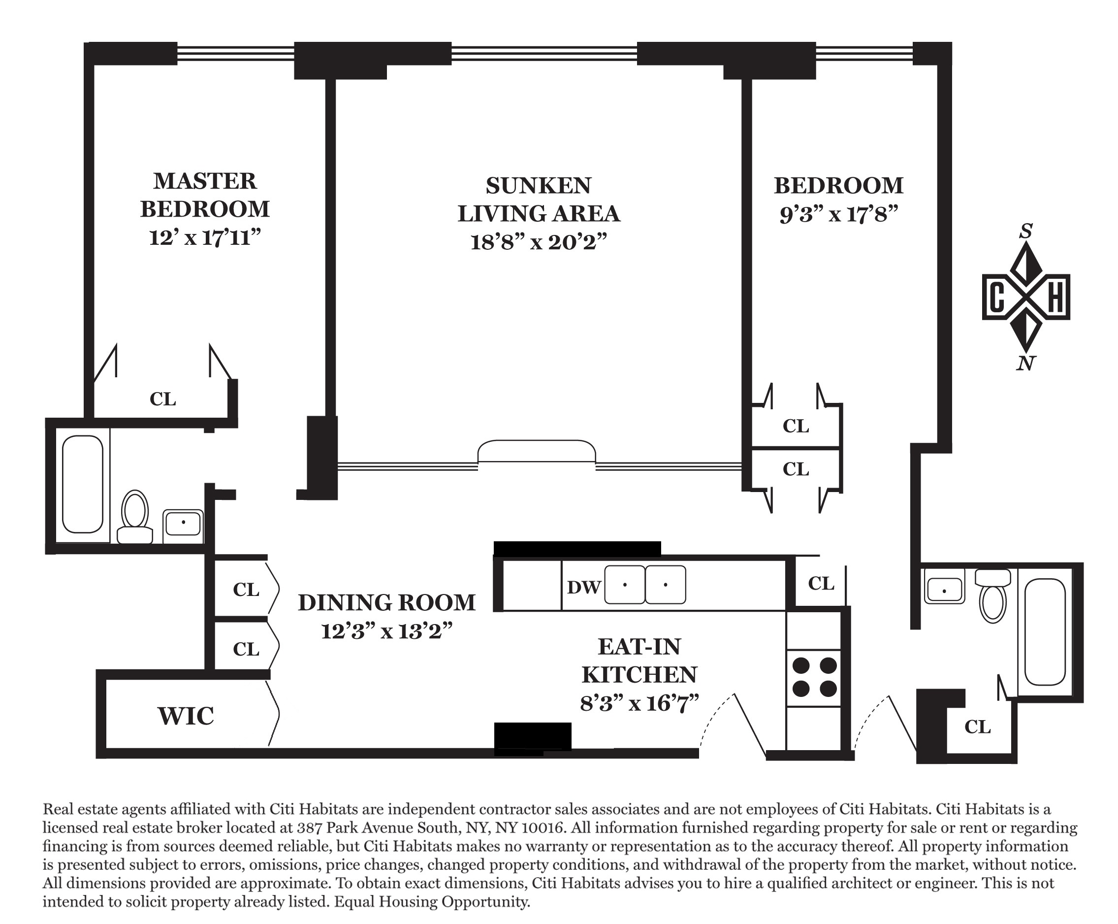 Floor plan of The Wakefield, 525 East 80th St, 3D - Upper East Side, New York