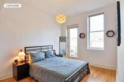 New York City Real Estate | View 55 Engert Avenue, #2 | Master Bedroom