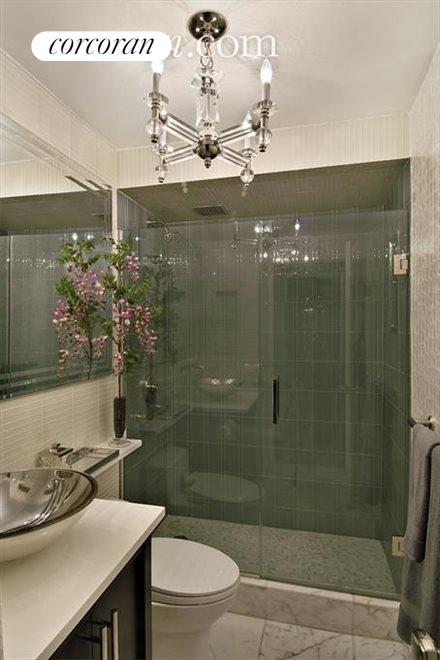 Triple Mint Bathroom