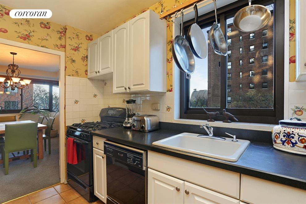 Windowed Kitchen with Excellent Counter Space