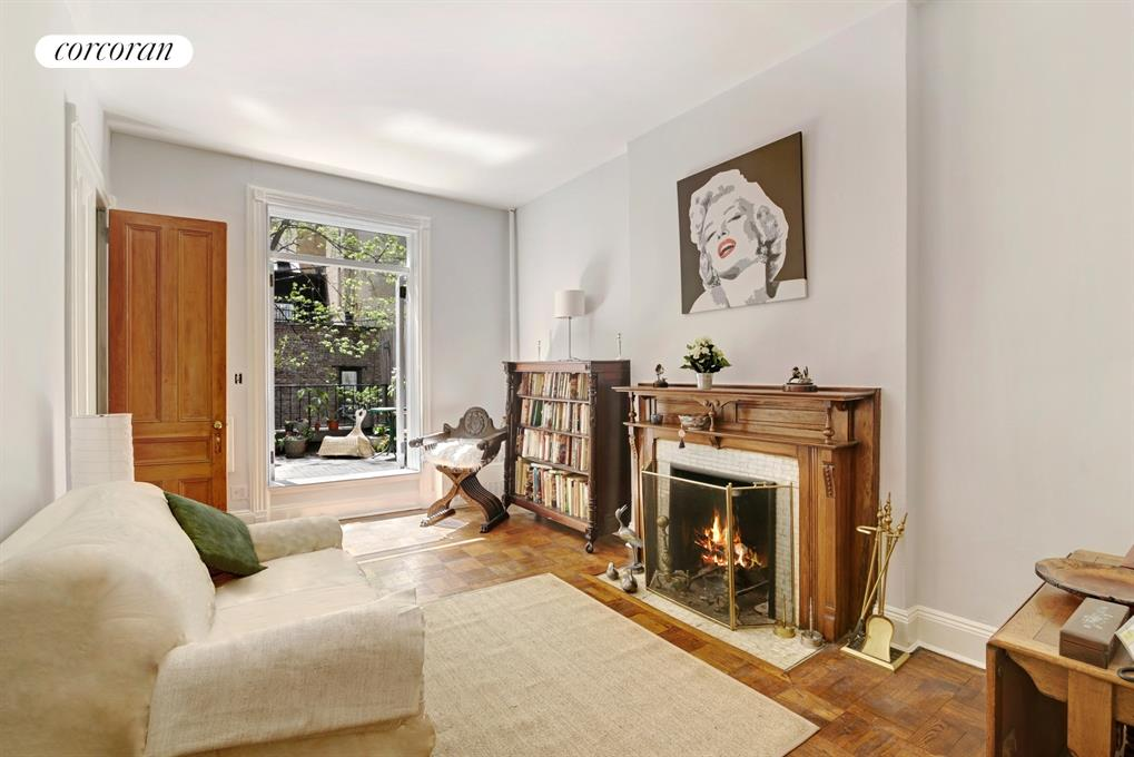 138 West 87th Street, 3R, Living Room