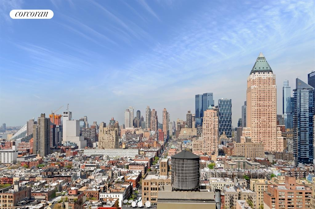350 West 42nd Street, 39E, Open Kitchen with Breakfast Bar