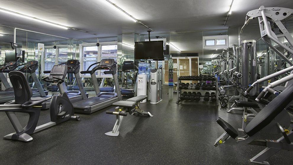 Free fitness center.