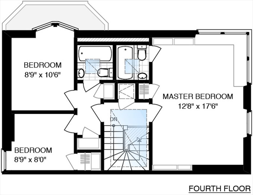 New York City Real Estate | View 558 East 87th Street | Floorplan 4
