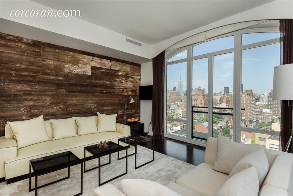 Living Room with Empire State Building Views