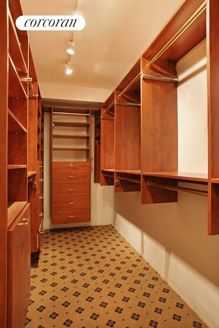 Huge Fitted Walk-In Closet in Master Suite