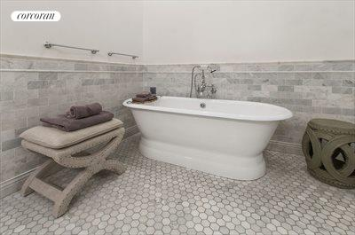 New York City Real Estate | View 481 Washington Street, 2-S | Separate Soaking Tub