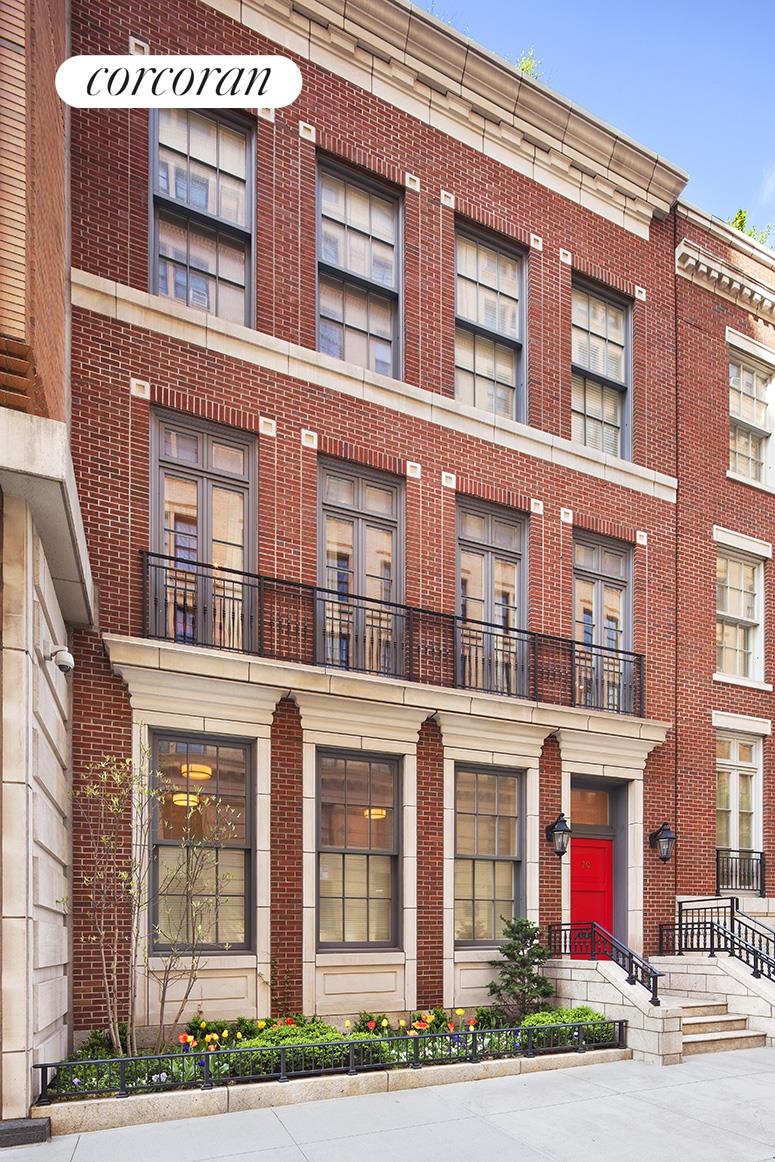 Experience the discreet townhouse lifestyle with all of the conveniences and services of a full service condominium at 70 Bethune Street. Designed by Robert A. M. Stern, 70 Bethune, 28.5 foot wide with approximately 4,500 square feet including the basement is situated on a tree lined street in the coveted West Village. This 6 bedroom, 6.5 bathrooms townhouse at Superior Ink has an elevator which is a plus for vertical living. On the first floor, the large windowed chefs kitchen with beautiful finishes, leads into the formal dining room. The flow is perfect, as the adjacent oversized great room has a pair of French doors leading out to the private patio which is approximately 800 square feet and perfect for entertaining. Up one flight, is the grand master suite with a very spacious walk in closet and a luxurious marble master bath. This floor is currently configured as an entire master suite with 2 full baths, however the dressing room can be another bedroom as it does have a full bath. The third floor, houses 4 bedrooms with 3 full baths. There is also a beautifully finished basement with a small sleep area, a full bath and a laundry room. This Superior Ink Townhouse has access to all of the Superior Ink Towers amenities which include: parking, fitness center, yoga room, playroom, cinema room, and residential lounge. Schedule your visit to see this exceptional home.