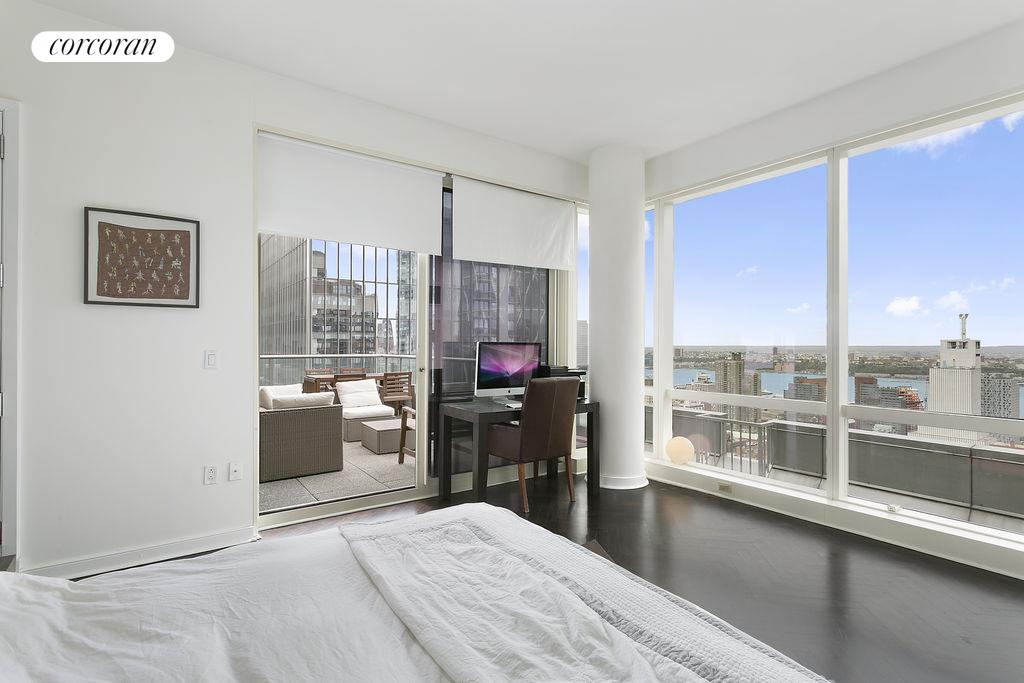 230 West 56th Street, 48E, Living Room