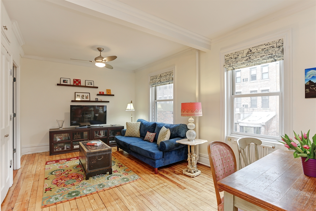 Corcoran 170 west 89th street apt 2d upper west side for Living room 86th st