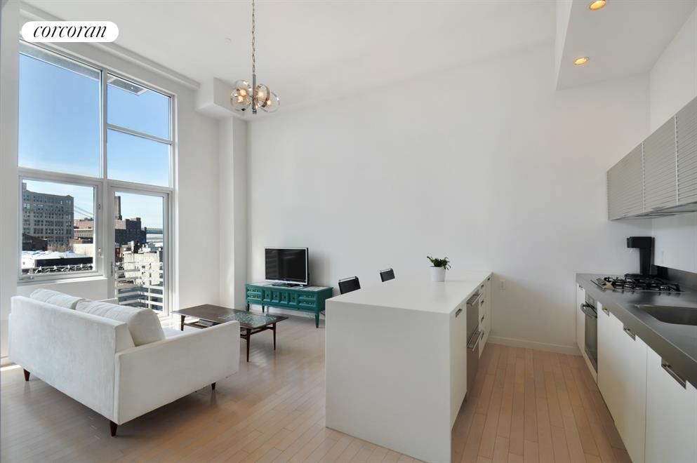100 North 3rd Street, 4D, Kitchen / Living Room