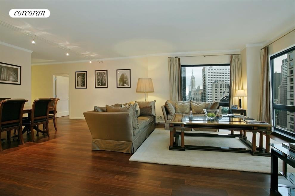 721 Fifth Avenue, 30G, Living Room
