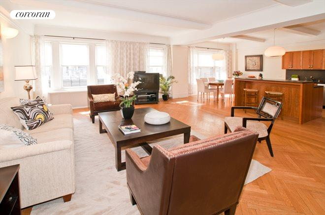321 West 78th Street, 7EF, Living Room