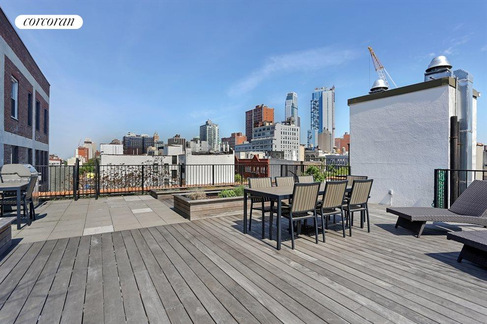 New York City Real Estate | View 422 State Street, #1 | Roof Deck