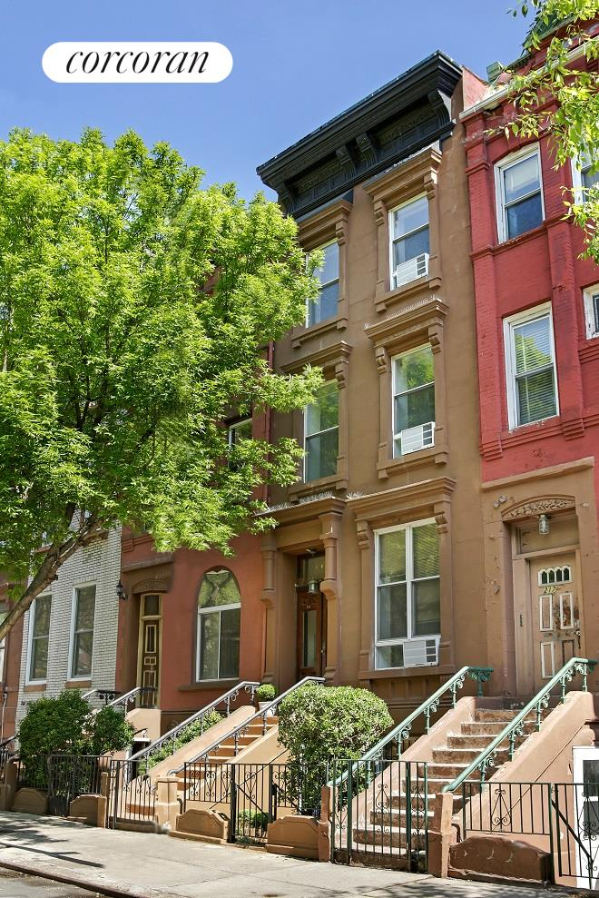 Corcoran 219 west 131st street harlem real estate for Townhouses for sale in harlem