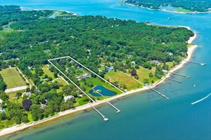 Magnificent Private Waterfront Compound, North Haven