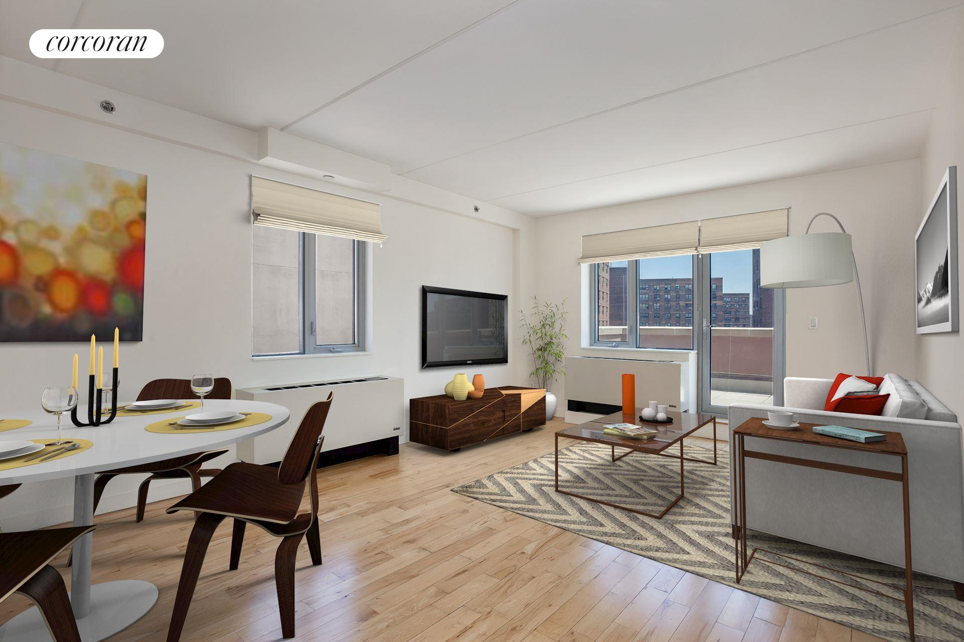 1810 Third Avenue, B-8B, Living Room