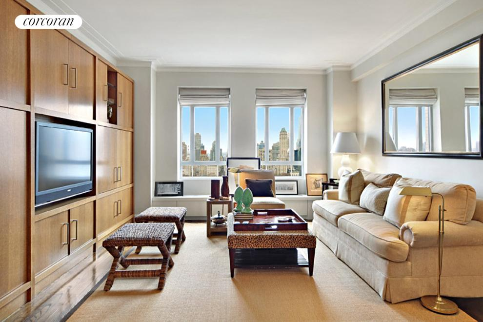 25 Central Park West, 28Q, Living Room