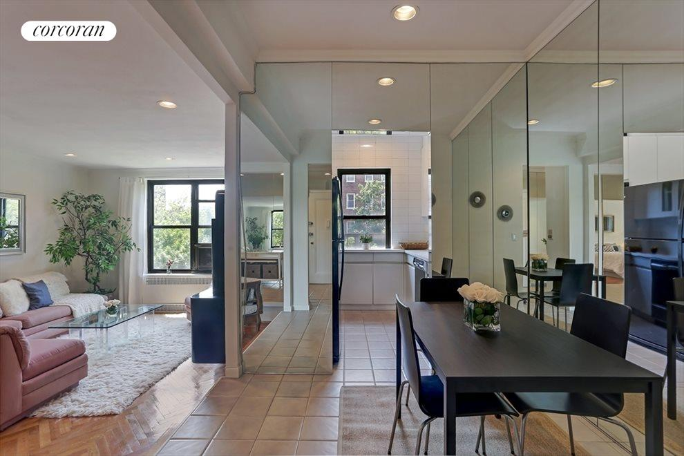 Dining Room & Windowed Kitchen