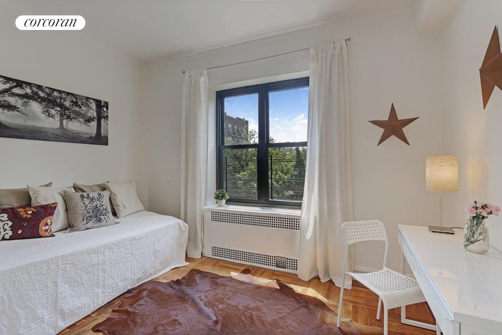 Corner Bedroom with Skyline Views