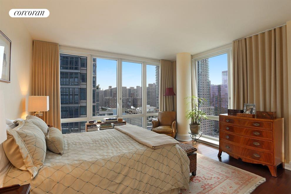 Large Corner Master Bedroom with Great Views