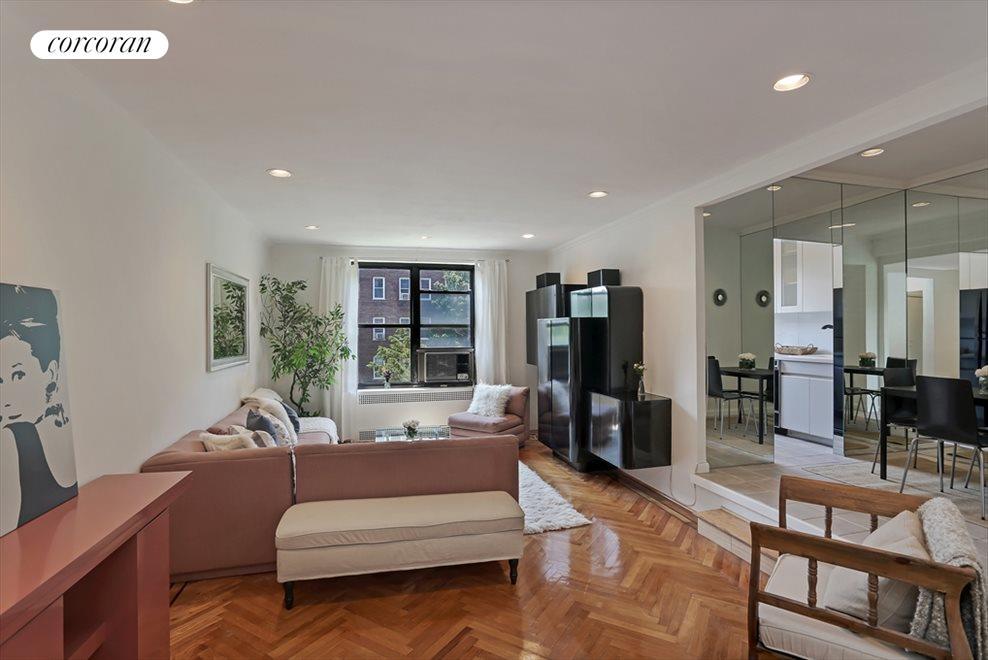 Open & Expansive Sunken Living Room