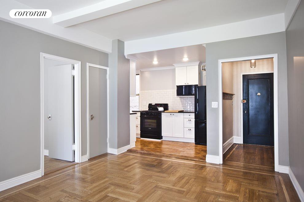 Open Kitchen with Foyer