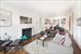 655 Park Avenue, 10D, Living/Dining Room