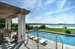 178 Redwood Road, Picturesque pool overlooking Sag Harbor Bay