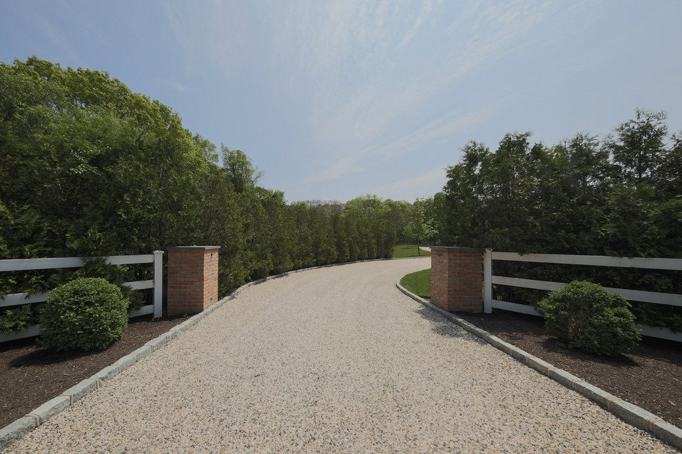 Entry to a beautiful estate compound