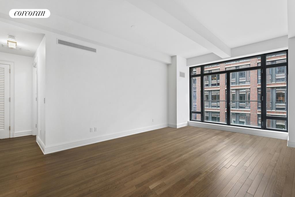 160 West 12th Street, 42, living room (virtually staged)