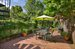 326 10th Street, Gorgeous outdoor patio with planting beds