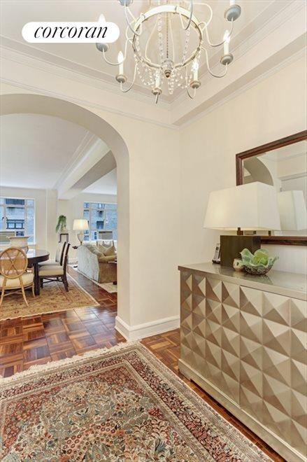 Gracious Separate Entry Foyer