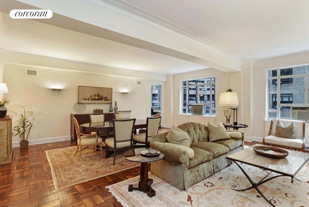 Huge Loft-like Living Room